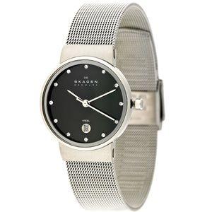 Skagen Anita Quartz Stainless Steel Mesh Watch